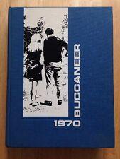 1970 EAST CAROLINA UNIVERSITY YEARBOOK, THE BUCCANEER, GREENVILLE, NC