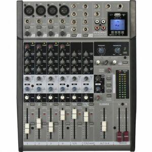 PHONIC AM 1204 FX RW MIXER AUDIO 8 CANALI USB BLEUTOOTH NUOVO GARANZIA UFFICIALE