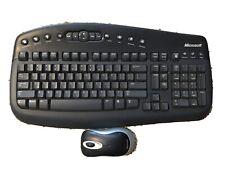 Microsoft Wireless Optical Desktop 1000 Keyboard and Mouse PC MAC