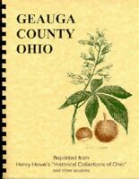 History Geauga County Ohio New RP Henry Howe/others Chardon OH Western Reserve