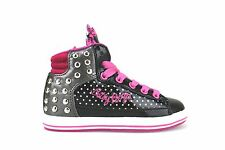 scarpe bambina BETTY BOOP 24 sneakers nero vernice AH144-B