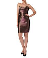 Vivienne Westwood Red Label - Bronze Taffetta Dress - size 6 - RRP £815.00 BNWT