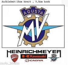 MV AGUSTA Sticker Aufkleber 15cm F4 Brutale MV-Logo