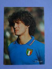 CARTOLINA POSTCARD CALCIO ITALIA COLLOVATI CAMPIONI DEL MONDO 1982 NEW-FIO