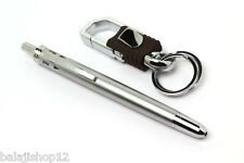 MAGICAL SYSTEM 4IN1 MULTI-UTILITY BALL PEN 4 REFILLS FREE LOCKING KEYCHAIN NEW