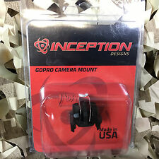 New Inception Designs Invader 1913 GoPro Picatinny Rail Mount - Dust Black