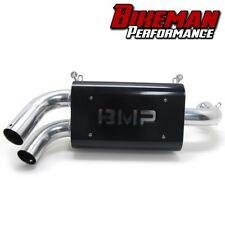 Bikeman Performance Double Barrel Slip-on Exhaust Polaris 2015-2018 RZR XP 1000
