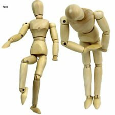 Wooden Man Joint Puppet Home Decoration Selected Sketch Art Puppet Ornaments-%