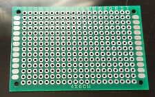 1 pc Double Sided FR-4 PCB Prototyping Perf Boards Breadboard DIY 4x6cm 40x60mm