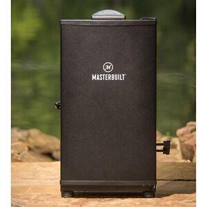 Masterbuilt 30 Electric Smokehouse Smoker Black Top Controller Digital