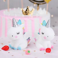 Unicorn Cake Baking Decoration Vinyl Crafts Creative Birthday Cartoon Ornaments.