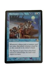 Overburden card,  Prophecy set, MAGIC THE GATHERING