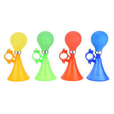 Childrens Kids Bicycle Cycling Metal Air Horn Honking Hooter Squeeze Bell LEZX