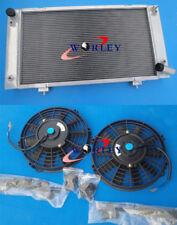 For Discovery & Range Rover Series 1 3.9 & 4.0 V8 89-98 Aluminum radiator & fans
