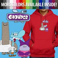 Unisex Pullover Hoodie Sweater Print Chowder Cartoon Schnitzel Mung Daal Chef