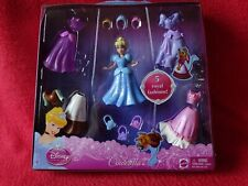 New Cinderella Magiclip Figure & Dress Set Disney Princess 1 Doll & 5 Outfits