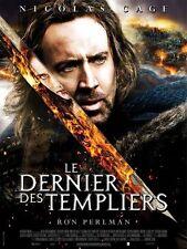 Affiche 120x160cm LE DERNIER DES TEMPLIERS 2011 Nicolas Cage, Perlman NEUVE