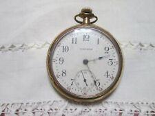 Antique 1913 Waltham Pocket Watch 17 Jewels