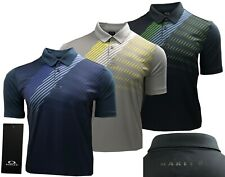 Oakley Golf Striped Shadow Graphic Polo Shirt - RRP£60 - S M L XL XXL