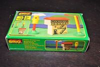 BRIO New-in-Box : SIGNAL HOUSE #33371 Made in Sweden / Rare vintage retired