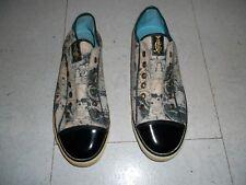 Rarität Christian Audigier Schuhe Sneaker f. Ed Hardy Fans Gr 41 bunt NP 120 NEU