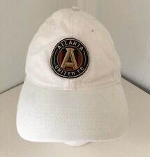 Atlanta United Football Soccer Club MLS Hat Cap White Embroidered Adidas