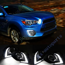 White 9-LED Daytime Running Lamp DRL For Mitsubishi ASX/Outlander Sport 13-15 k