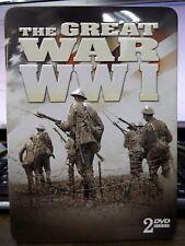 THE GREAT WW1 - 2 DISC DVD SET IN TIN BOX