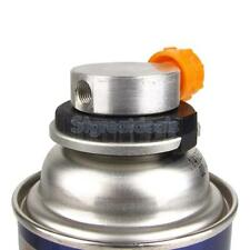 Picnic Gas Fuel Canister Stove Can Burner Cartridge Tank Adapter Conver Head