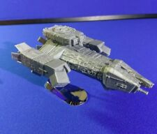 Nostromo spaceship from Alien. 3D-printed. Assembled, Not painted W/Base
