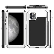 Shockproof Aluminum Glass Metal Case Cover for iPhone XS MAX XR X 6S 7 8 Plus