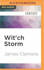 The Banned and the Banished: Wit'ch Storm 2 by James Clemens (2016, MP3 CD,...