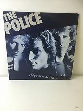 "THE POLICE REGGATTA DE BLANC - 12"" VINYL LP RECORD - GOOD CONDITION"