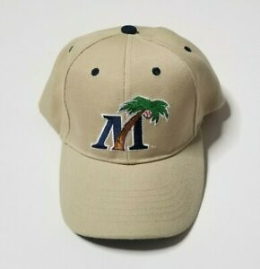 Fort Myers Miracle Baseball Cap Hat One Size Strapback Mighty Mussels Minors