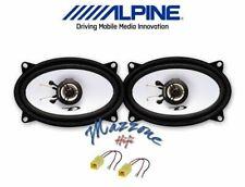 ALPINE SXE-4625S Set 2 Haut Parleur Haut-Parleurs Ovales Pour Punto Cabriolet 1