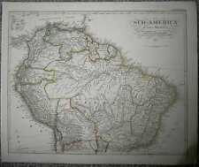 1848 Stieler map SOUTH AMERICA (NORTHERN PART) (#49b)