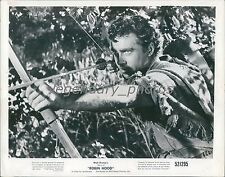 1952 Robin Hood Original Press Photo Richard Todd