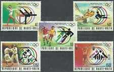 Timbres Sports JO Haute Volta 377/9 PA201/2 o lot 16681
