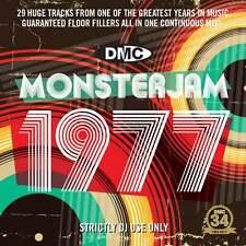 DMC 1977 Monsterjam Continuous Megamix Mixed DJ CD By Ivan Santana 70s Music