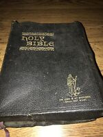 Vintage 1946 The Good Leader Bible John A. Dickson KJV Encyclopedia/Concordance