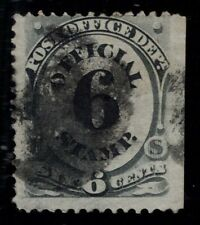 US Scott O50 Used Official 6 cent black    Lot L015