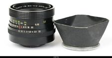 Lens Zeiss Pancolar MC 1.8/50mm  No14907  With Shade Hood for Pentax M42