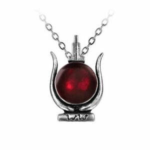 Alchemy of England Cult of Aset Egyptian God Horned Isis Pendant Necklace P233
