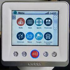 Uebbi Webby Tablet Telecom TIM Alice WiFi LAN WEB Radio Sveglia Cucina Meteo