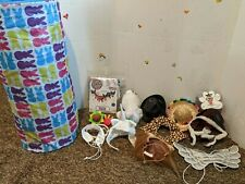 Pet Clothes , costumes small, includes rabbit toy and tunnel.