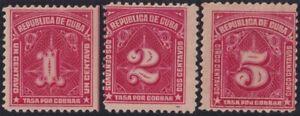 1914-153 SPAIN ANTILLES 1914 MH TASA POR COBRAR POSTAGE DUE.