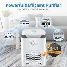 New ListingLarge Room Air Purifiers True Hepa Filter Cleaner for Home Smoker Allergies Dust