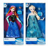 """Disney FROZEN ANNA & ELSA Classic Doll Set With Ring 11 1/2"""" New in Box"""
