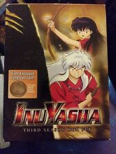 InuYasha - Season 3 (DVD, 2006, 5-Disc Set) complete season!