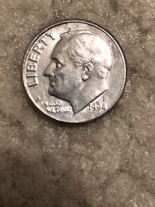 Coin  United States 🇺🇸- 1 Dime 1994 #B118